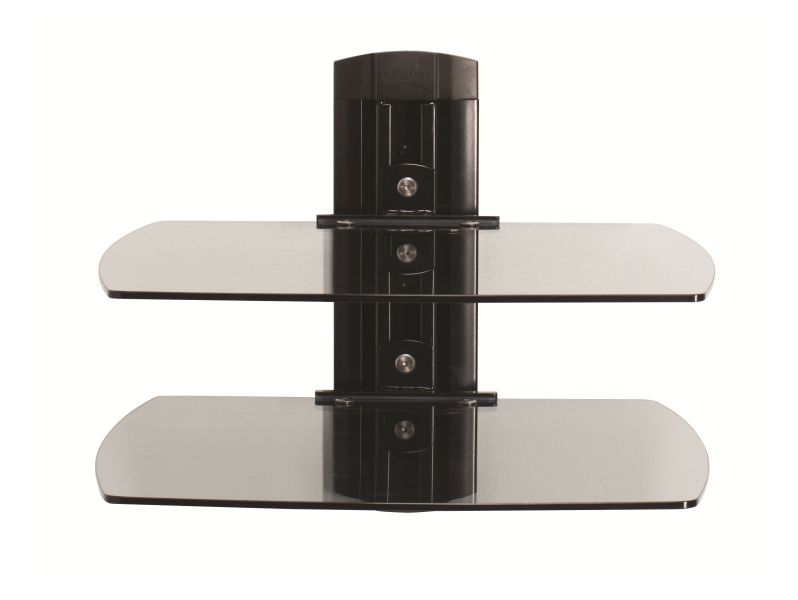 SANUS Dual Glass AV Shelf