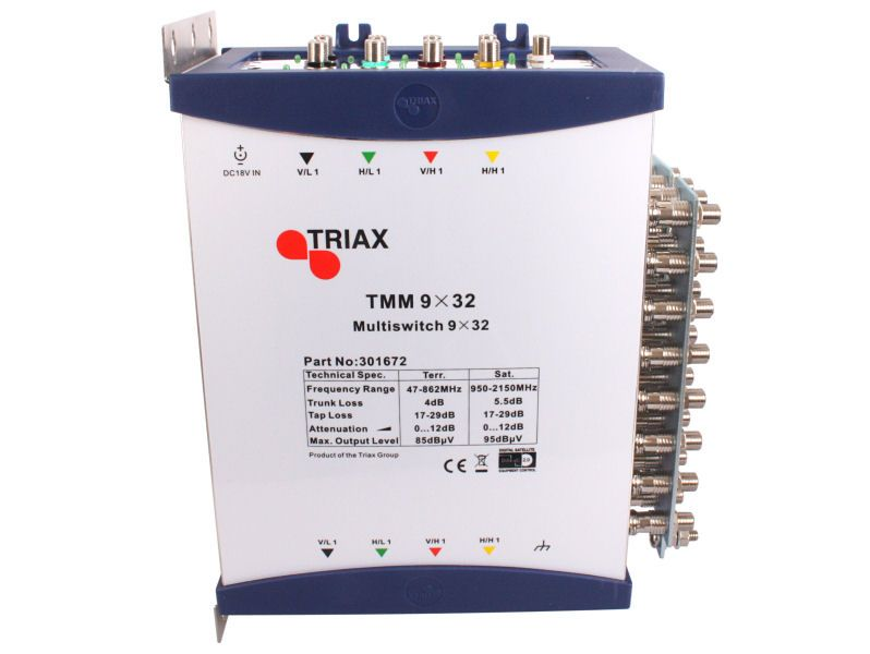 TRIAX TMM 9x32 CASCADE Multiswitch