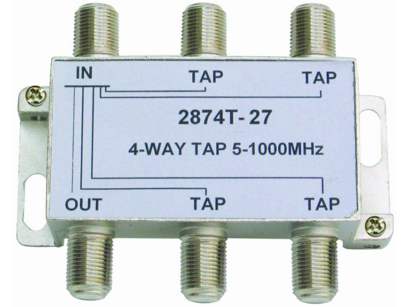 INTERNAL 4-27 F Type Tap (5-1000MHz)