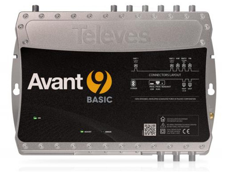 TELEVES Avant9 SAT Digital Headend