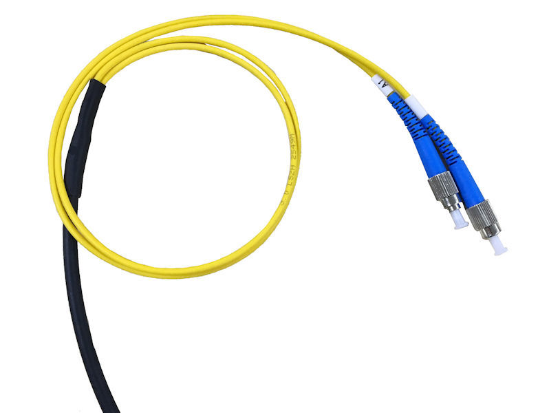 200m GLOBAL FC/PC UG Fibre 2 Core Black