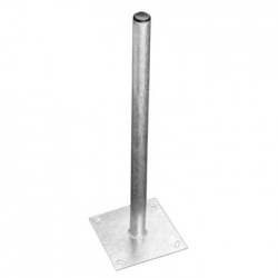120cm Ground Mount Galvanised Steel & Fitting Bolts