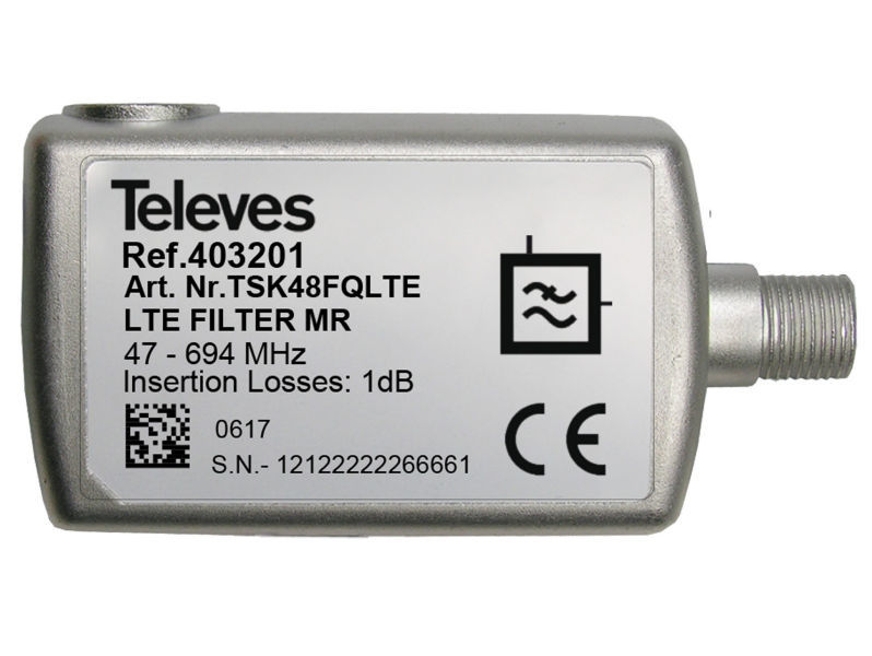 TELEVES CH48 Indoor 5G LTE700 Filter
