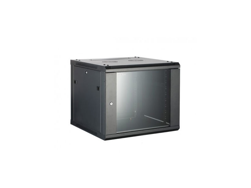 ALL-RACK Wall Cabinet 6U Black DEEP
