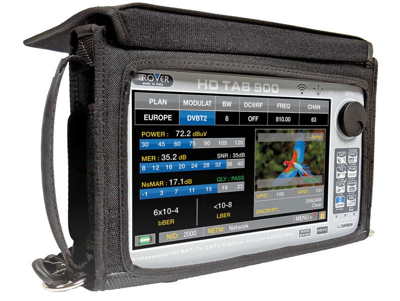ROVER 9'' Touch HD Tablet Spectrum Analyser