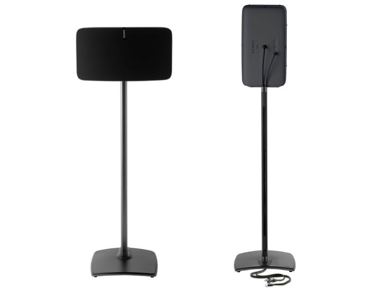 (2) SANUS Floorstand for SONOS® Black