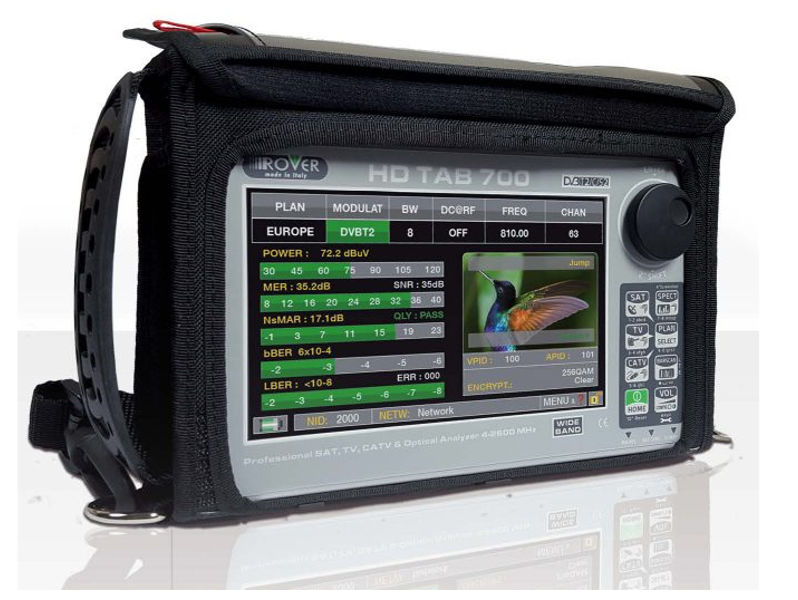 ROVER 7'' Touch HD Tablet Spectrum Analyser