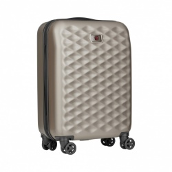 Wenger Lumen Hardside 20'' Carry On Roller Case - Titanium