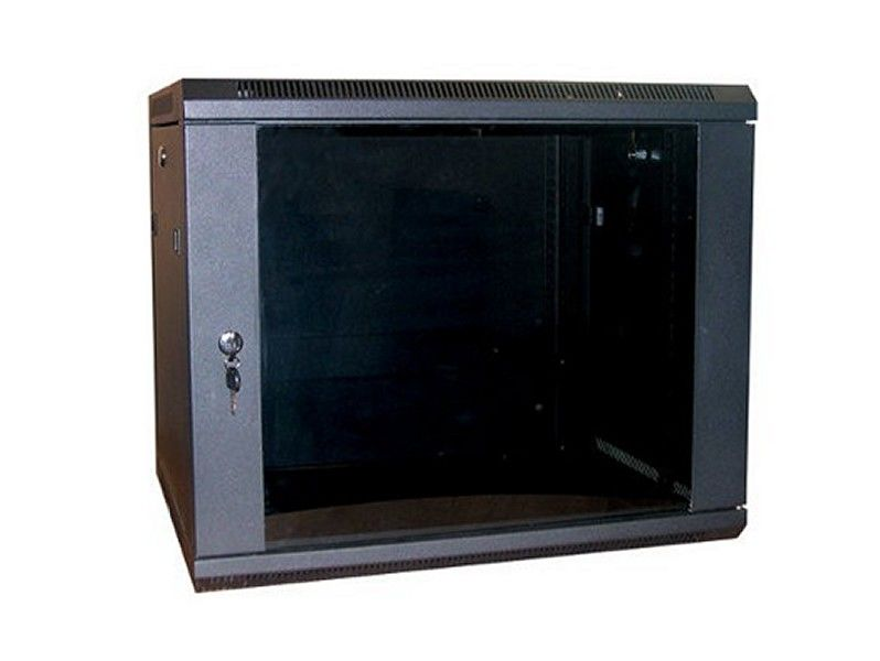 ALL-RACK Wall Cabinet 9U Textured Black