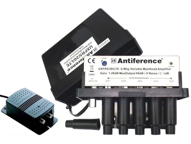 ANTIFERENCE F 5 Way Masthead 1-20dB LTE