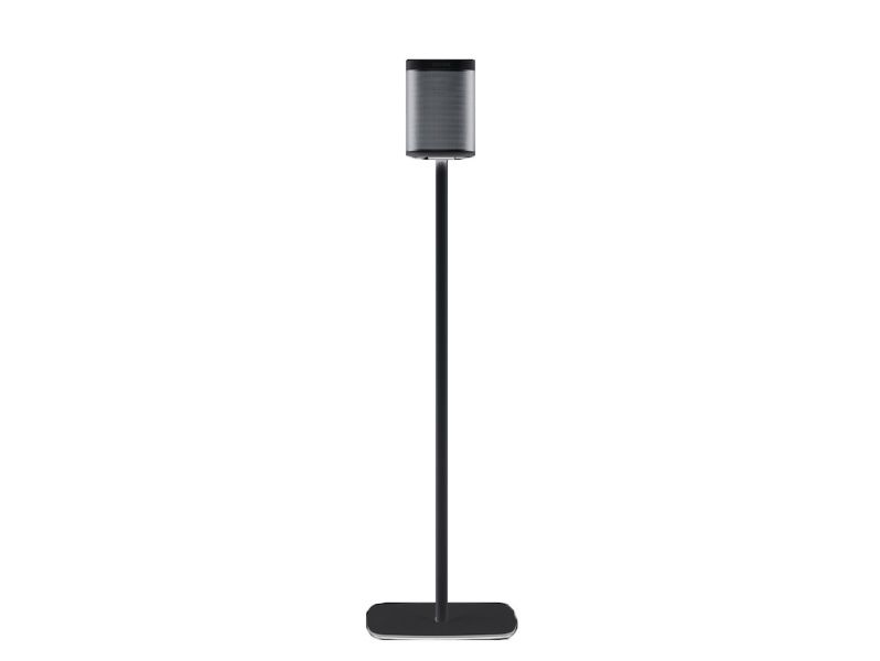 (2) FLEXSON 820mm Floorstands PLAY:1 Black
