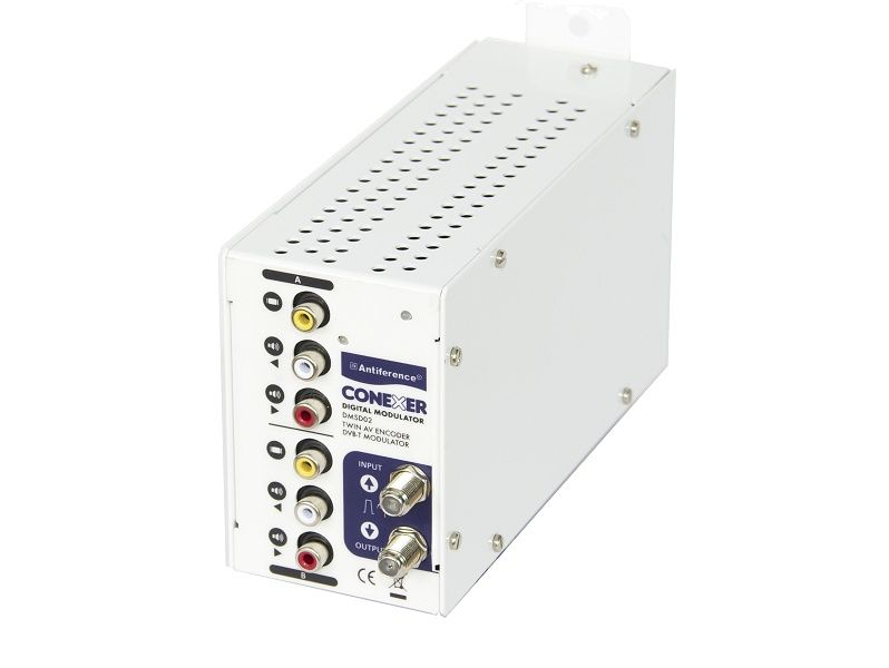 "CONEXERâ""¢ Twin SD DVB-T Modulator"