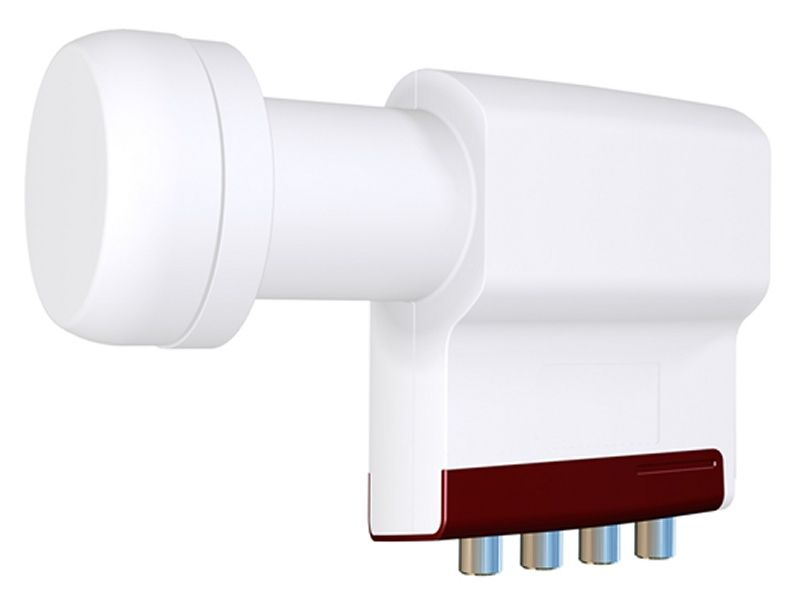 INVERTO Quad Long Neck LNB Red Extend