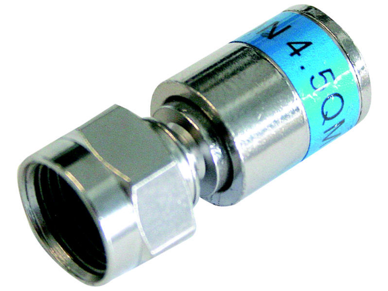 (50) CABELCON Compression F Plug 0.65mm