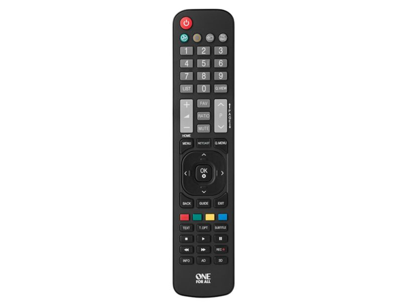 ONE FOR ALL Remote Control for LG TV