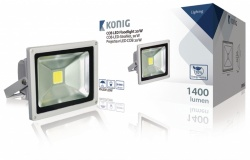 Konig LED Floodlight 20 W 1400 Lumen COB - Indoor & Outdoor