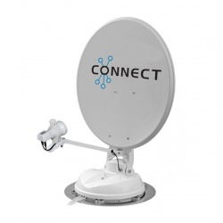 Maxview Connect 50cm Satellite System with Single LNB
