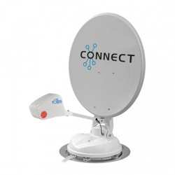 Maxview Connect 85cm Satellite System with Twin LNB with Automatic SKEW