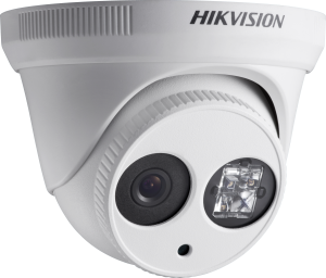 Hikvision DS-2CE56D5T-IT3 1080P external HDTVI dome camera with 2.8mm lens