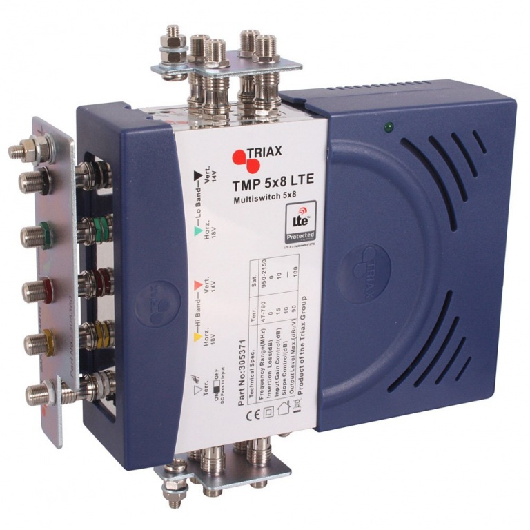 TRIAX TMP 5x8 Multiswitch LTE