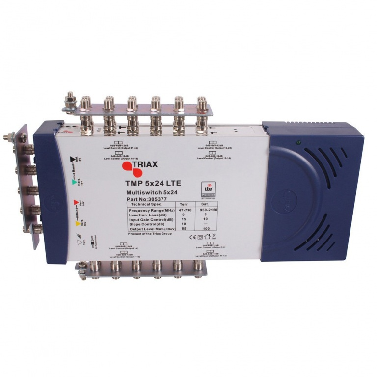 TRIAX TMP 5x24 Multiswitch + LMS LTE