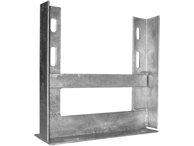 9'' x 9'' Galvanised Roof Mount