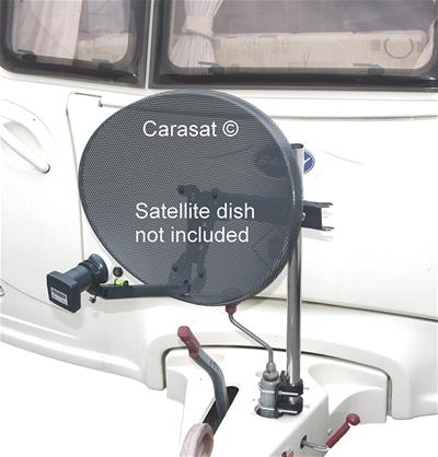 CARASAT - Satellite Caravan Mast Kit
