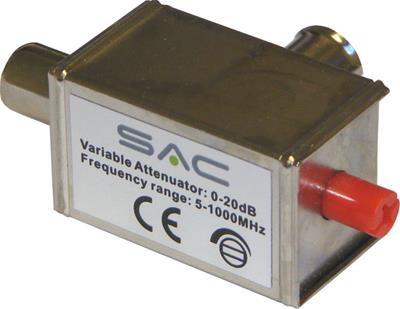 SAC Variable Attenuator IEC 0-20db 5-1000MHz