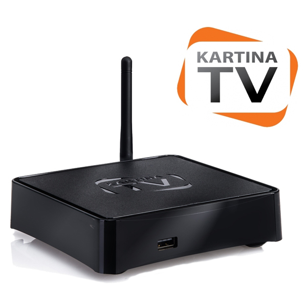Kartina TV IPTV Like (Dune) Set Top Box and Subscription