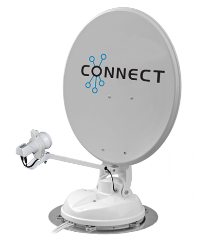 Maxview Connect Fully Automatic Satellite System 65cm with Single LNB