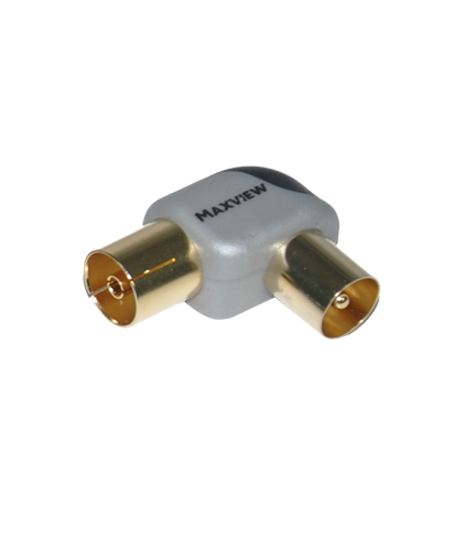 Maxview MXR0071M Angled Coax Connector Gold