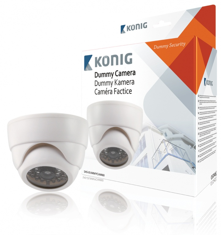 Konig Indoor CCTV dummy Dome Camera - Adjustable