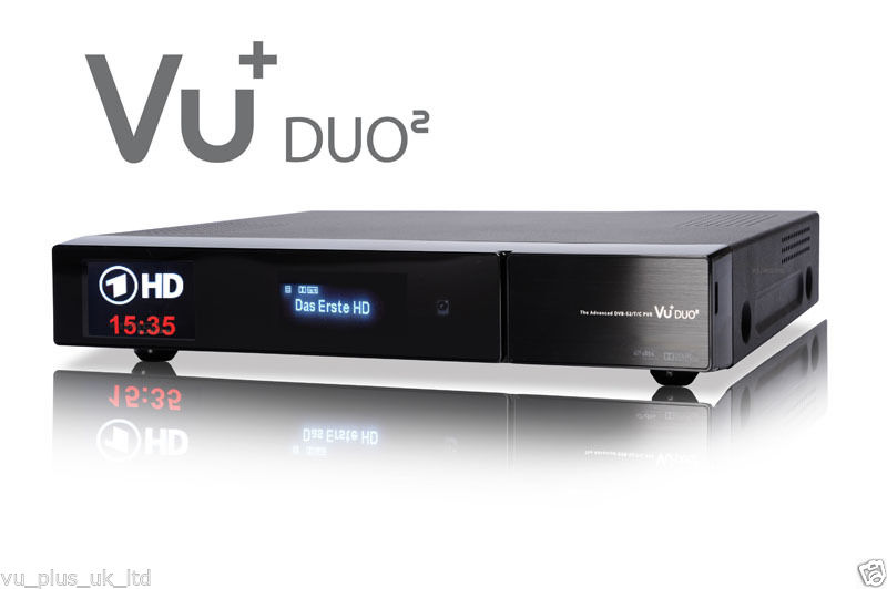 VU+ Duo2 Duo 2 (2 x DUAL DVB-S2 Tuners) Satellite Receiver Full HD
