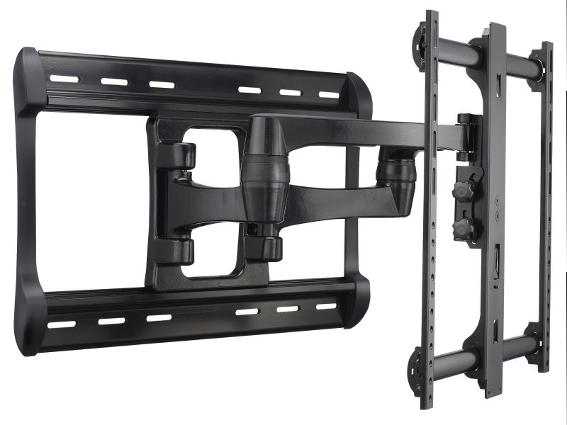 sanus xf228 lcd led tv full motion large wall mount bracket vesa 42 90. Black Bedroom Furniture Sets. Home Design Ideas