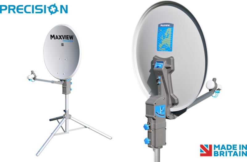 Maxview 75cm Precision Portable Satellite System with 2 Years Warranty