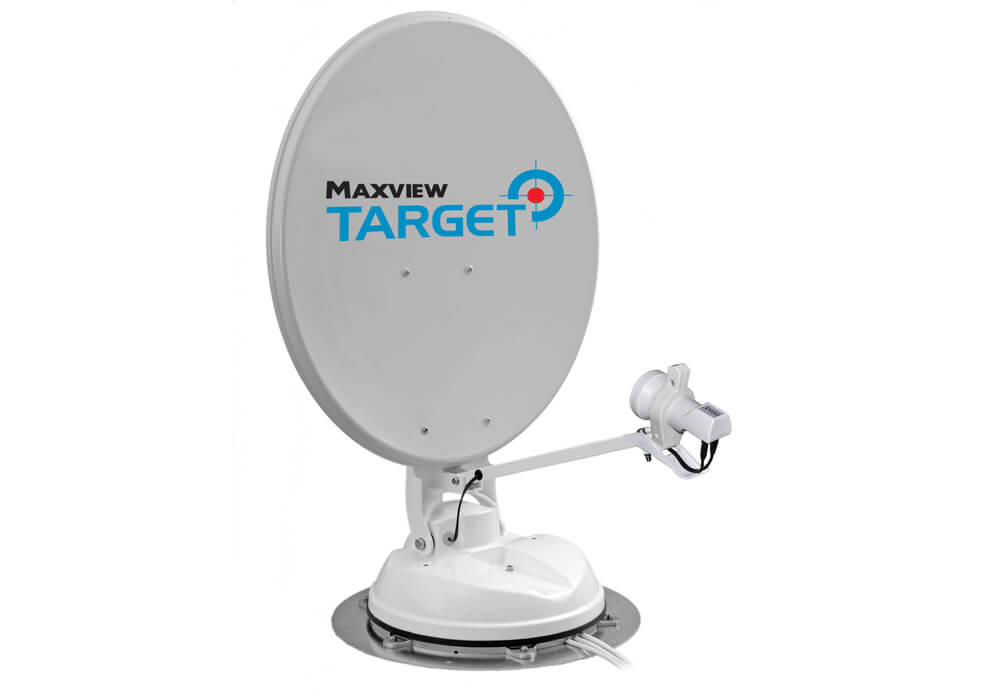 Maxview Target Fully Automatic Satellite System 85cm - Single