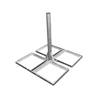 2'' x 3' Non-Penetrating Roof Mount For Satellite Dishes & Aerials