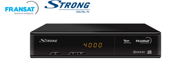 STRONG SRT 7405 FRANSAT HD Receiver with PVR Ready function