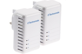 TM-500 HP 500Mbps HomePlug AV Starter Kit - High Speed