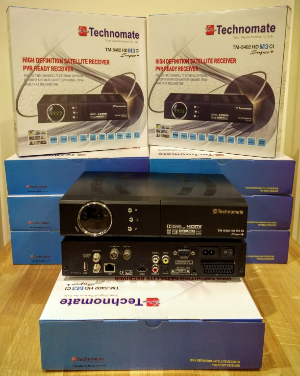 Technomate TM-5402 M3 HD CI Super+ LAN USB PVR Receiver