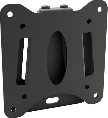 super slim fixed tv wall mount bracket 1327 vesa 13 27. Black Bedroom Furniture Sets. Home Design Ideas