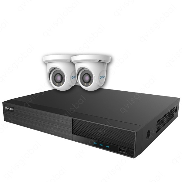 Mix Digital Viper NVR Kit - 4 Channel 1TB Recorder with 2 x 5MP Fixed Eyeball Cameras