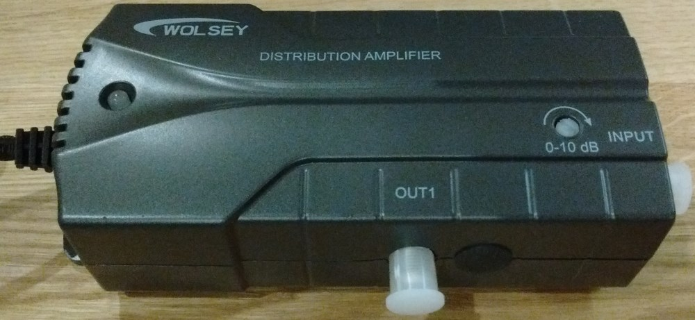 WOLSEY F 1 Set Amp LTE 0-10dB Variable