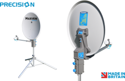 Maxview 55cm Precision Portable Satellite System with 2 Years Warranty