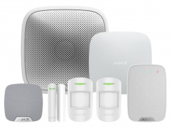 AJAX Kit 3 - House c/w Keypad (White)