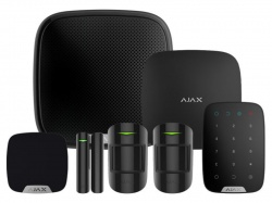 AJAX Kit 3 - House c/w Keypad (Black)