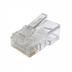 100 x SAC RJ45 Crimp-on Connector (CAT 5E)