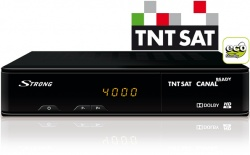 STRONG SRT 7404 TNTSAT HD Receiver with PVR function