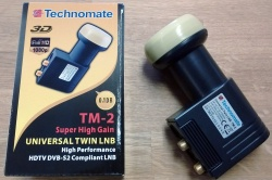 Technomate TM-2 Twin Super High Gain Universal 0.1dB LNB