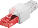 Goobay CAT6 UTP Tooless RJ45 Plug – White